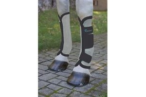 Shires Arma Fly Turnout Socks Black Full