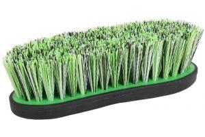 Shires Ezi-Groom Large Dandy Brush Green
