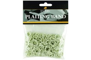 Lincoln Plaiting Bands Bag White