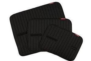 LeMieux Unisex's Memory Foam Bandage Pads Pair, Black, Small