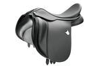 Bates Wide All Purpose Saddle With Short Points and Cair - Classic Black - 42cm