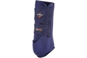 LeMieux Unisex's ProSport Pair Support Boots, Navy, Medium