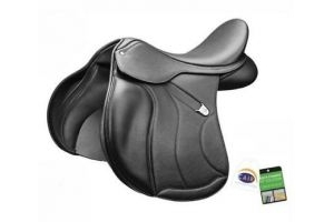 Bates All Purpose + Saddle Classic Black - 17 inch