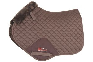 Shires Performance Supafleece Jump Saddlecloth Full Size: Brown