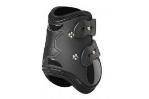 LeMieux Teknique Fetlock Boots : Black: Large