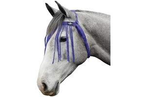 Saxon Fly Fringe Purple Pony