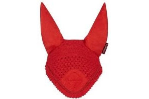 LeMieux Signature Fly Hood Coral Red