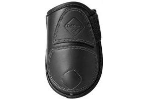 LeMieux Capella Leather Fetlock Boots Full Black