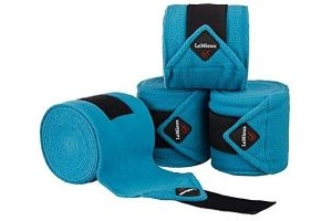 LeMieux Luxury Polo Bandages - Teal, Pony