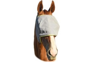 Equilibrium Field Relief Midi Fly Mask No Ears Grey/Yellow