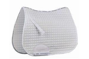 Weatherbeeta Supreme All Purpose Full Size Saddle Pad - White