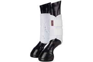 LeMieux Unisex's Proshell Brushing Boots, White, Medium