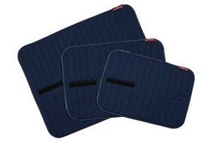 LeMieux Unisex's Memory Foam Bandage Pads Pair, Navy, Small