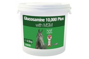 NAF Glucosamine 10,000 Plus with MSM (4.5kg) (May Vary)