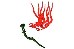 Noble Outfitters Wave Fork Manure Pooper Scooper Hunter Red 41106
