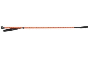 Shires Thread Stem Whip Orange