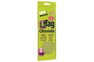 Naf Off Citronella Tag Twin Pack