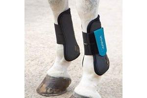 Shires ARMA Tendon Boot Pony Black Teal
