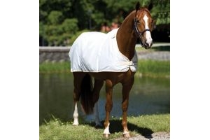 Horseware Waterproof Fly Rug Liner White: 5 ft 9