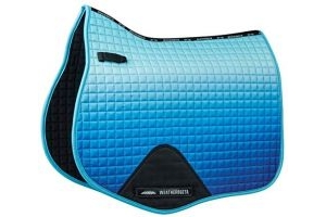 Weatherbeeta Prime Ombre All Purpose Full Size Saddle Pad - Ocean Breeze