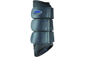 Weatherbeeta Pony/Horse Exercise Boots: Black: Warmblood