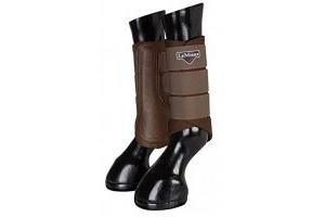 LeMieux Unisex's ProSport Grafter Brushing Boots Pair, Black, Small