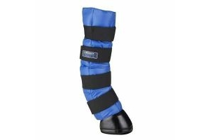 LeMieux Arctic Ice Horse Hypo Freeze Gel Boots In Blue - One Pair