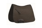 Weatherbeeta Supreme Dressage Saddle Pad - Black - Full