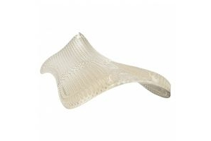 Acavallo Shaped Gel Pad & Rear Riser Clear