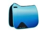 WeatherBeeta Prime Ombre Dressage Saddle Pad - Ocean Breeze - Full