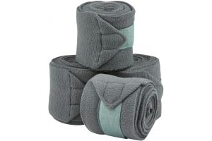 Saxon Co-ordinate Fleece Bandages Grey