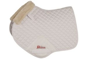 Shires Performance Supafleece Jump Saddlecloth Full Size: Natural