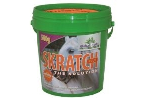 Global Herbs Skratch Plus Horse Mane & Tail Supplement x Size: 500 Gm