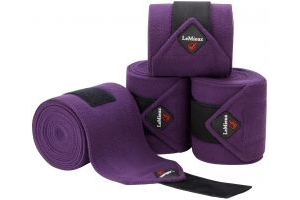 LeMieux Luxury Polo Bandages Blackcurrant