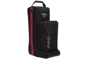 LeMieux Boot Bag Black/Red