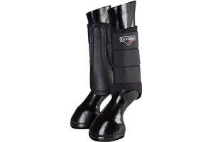 LeMieux Unisex's ProSport Grafter Brushing Boots Pair, Black, X-Large