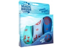 MagicBrush Soft Brush for Horses Pack of 3 - Deep Sea