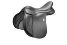 Bates All Purpose Square Cantle Saddle Heritage Leather With Cair - Classic Black - 42cm
