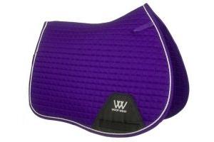 Woof Wear Contour GP Saddle Pad Ultra Violet