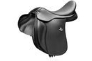 Bates All Purpose Saddle With Rear Velcro and Cair - Classic Black - 43cm