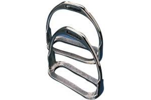 Korsteel Stainless Steel Two Bar Stirrup Irons