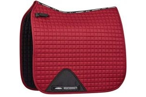 Weatherbeeta Prime Dressage Full Size Saddlepad - Range Of Colours: Maroon