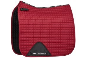 WeatherBeeta Prime Dressage Saddle Pad Maroon