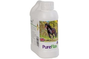 Pureflax Flax Seed Oil For Horses 1 Litre