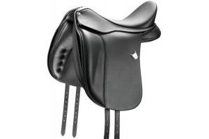 Bates Dressage Saddle Black