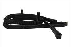 Rambo Horseware Micklem Competition Reins-Black Horse