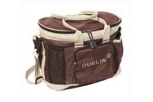 Dublin Imperial Grooming Bag-One Size Red/Cream