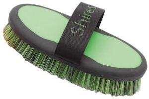 Shires Ezi-Groom Large Body Brush Green