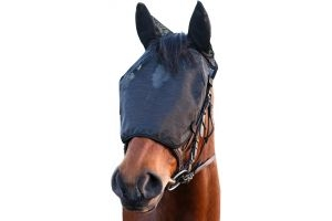 Equilibrium Riding Mask with Ears Black