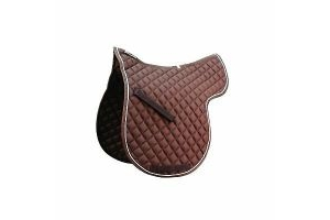 Roma Grand Prix High Wither All Purpose Numnah Warmblood Brown/White